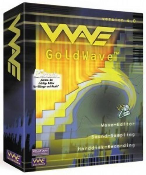 GoldWave  — Полноценный редактор цифоровых аудиофайлов